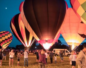Hot Air Ballon Glow